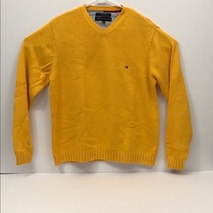 Tommy Hilfiger Mens Small V Neck Sweater